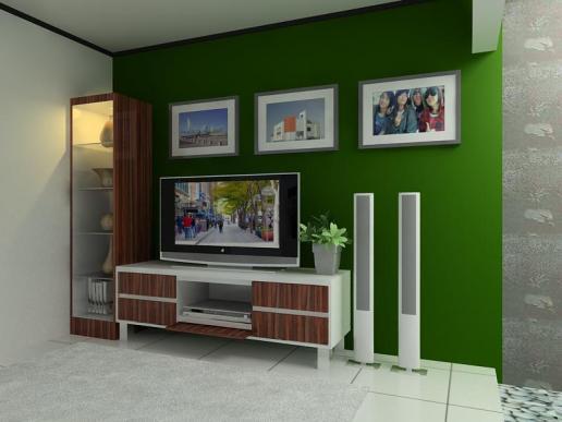 desain tv untuk rumah sebelum renovasi