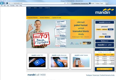 contoh internet banking (*bukan promo)