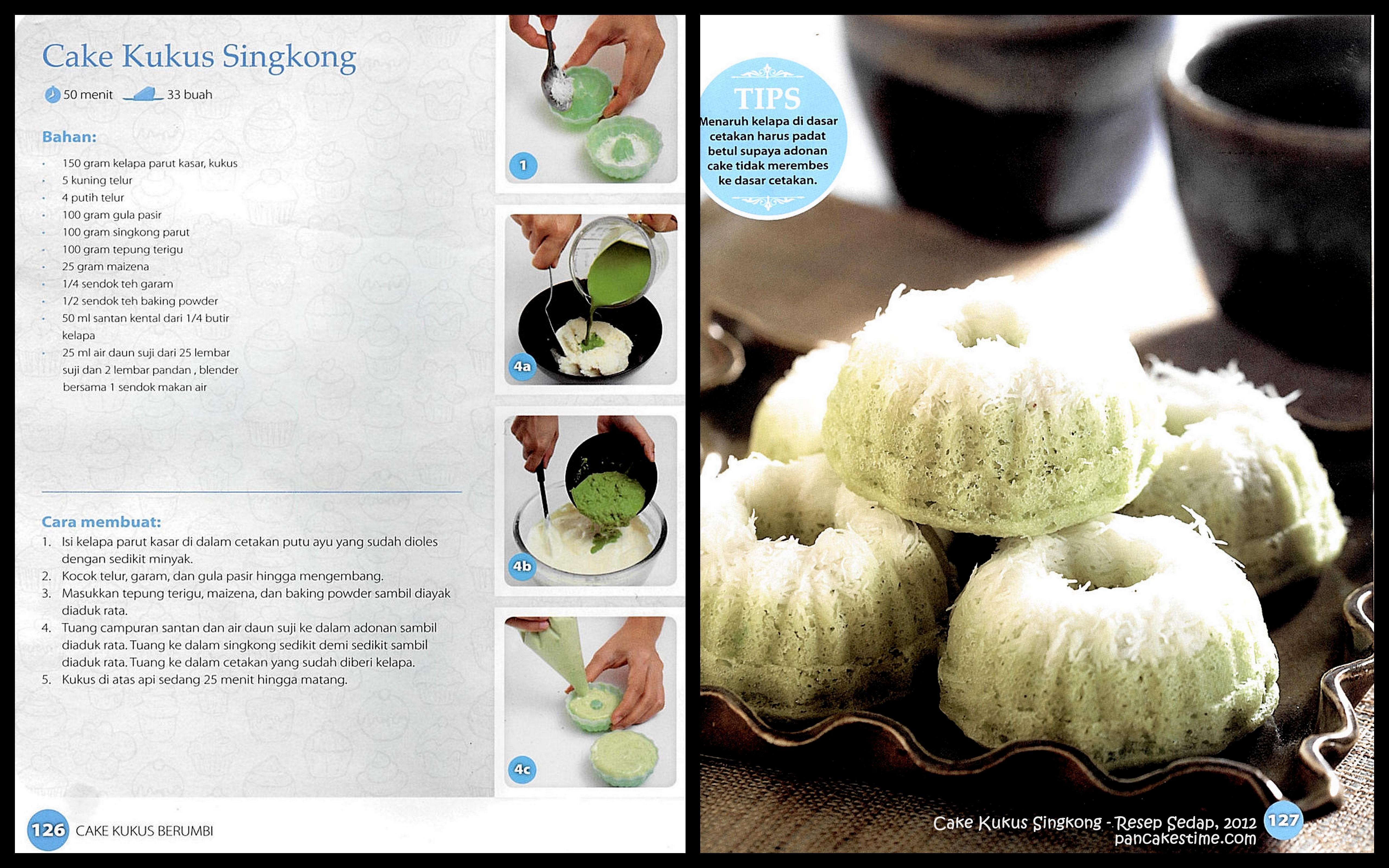 Resep Cake Kukus Pelangi Ncc: Bolu Kukus Pandan Cake Ideas And Designs