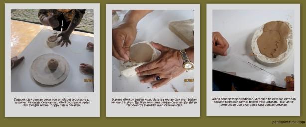 Cara membuat keramik sederhana dari clay