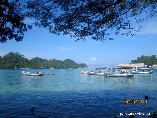 Pulau Sempu dari Pantai Sendang Biru