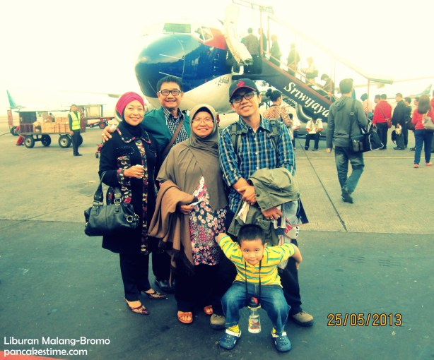 we'll take off to Malang ^^