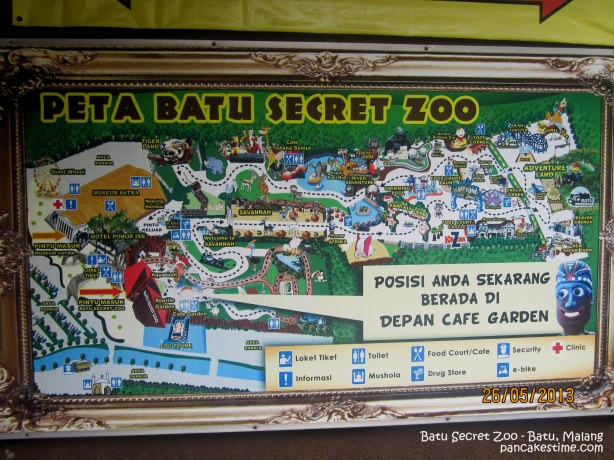 peta batu secret zoo