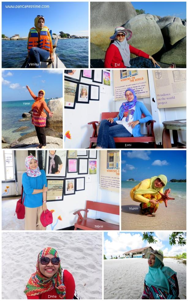 Belitung Trip participants