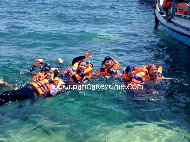 1 petik foto snorkeling